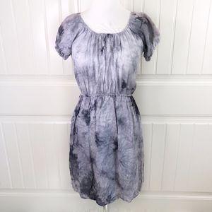 fbccfcdc25 Beach by Exist BE Gray Tie-Dye Swim Coverup Dress